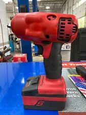 Snap-on 3/8 Inch Electric Impact Gun #Ct8810b Tool, Charger And Battery