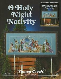 O Holy Night Nativity LFT114 by Stoney Creek cross stitch pattern