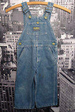 Kids Boys Vintage 60s OSH KOSH VESTBAK SANFORIZED Denim WORK BIB OVERALLS