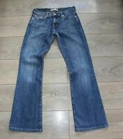 Women's Vintage LEVI'S 10529 Stretch Bootcut Blue Denim Jeans Size W27 L31