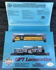HO scale Proto 2000 Series GP7 Locomotive # 23032 CNW # 1601 NIB Kit MK