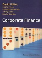 Corporate Finance: European Edition, Hillier, David, Good Condition Book, ISBN 9