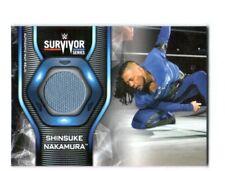 WWE Shinsuke Nakamura 2019 Topps SmackDown Survivor Series Mat Relic Card
