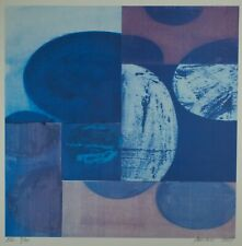 Charles Arnoldi XXI 9/30 Abstract Art Signed & Numbered Lithograph 2001