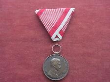 """Österreich Medaille""""Fortitvdini"""" in bronze mit Band"""
