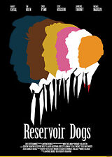 QUENTIN TARANTINO MOVIES RESERVOIR DOGS A4 260 GSM PRINT POSTER
