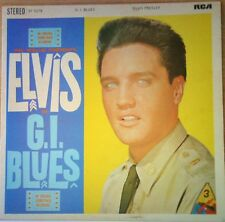 ELVIS PRESLEY~G.I. BLUES~ORIGINAL STEREO~SF 5078~1960 UK VINYL LP~EX-/EX