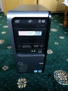 COMPAQ SR5707UK Desktop Computer Tower - Hard drive removed