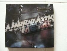 Digipack cd-Annihilator-Metal/first press 2007+Bonus CD+trailer dvd