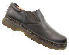 """Dr. Martens Brown Leather Loafers """"Orson"""" Slip On Men's US 10/UK 9/EU 43"""