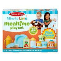 Melissa & Doug Mine To Love Mealtime 24 Pieces Play Set