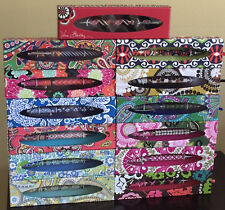Vera Bradley Boxed Ink Pen-New in Box-Retired-Many Hard to Find-Refillable