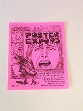 INTERNATIONAL ROCK POSTER EXPO 1993 SAN FRANCISCO Handbill at HALL OF FLOWERS