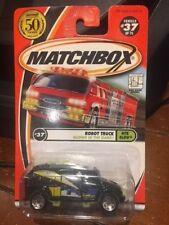 2002 Matchbox Nite Glow Robot Truck #37