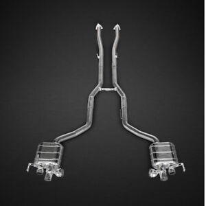 Capristo Bentley Continental Gt V8s Valved Exhaust System - No Remote