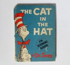 Dr Seuss Cat In The Hat First 1st ? HC 1957 1 signature POOR Random House no DJ