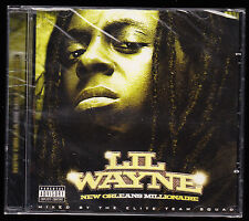 LIL WAYNE (2007) - NEW ORLEANS MILLIONAIRE - CD ALBUM - 22 TRACKS - NEW & SEALED