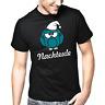 Nachteule Uhu Eule Comic Sprüche Geschenk Lustig Spaß Comedy Fun T-Shirt