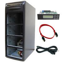 7 Burner (9 Bay) SATA CD DVD Duplicator Copier Barebone Tower Replicator Case