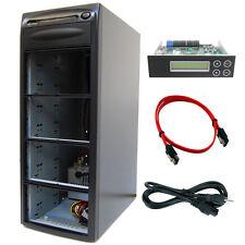 1-7 Duplicator SATA CD DVD Barebone Copier Tower + 9 Bay Case and Controller
