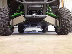 KAWASAKI TERYX 800 & TERYX4 FRONT & REAR A-ARM GUARDS 2014-2020 - MADE USA