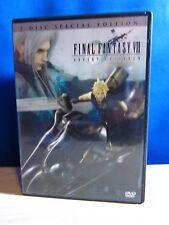 Final Fantasy VII Advent Children 2 Disc DVD
