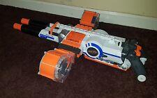 NERF N-Strike Elite Rhino-Fire Blaster Rapid Fire Gun Motorized Nice! $75 FS
