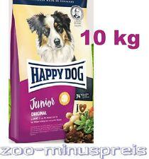 Happy Dog JUNIOR Original 10kg. Ab 7. Mon. Futter f.das Wachst. ehem Maxi Junior