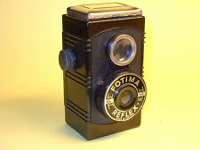 Fotax Fotima Reflex - very rare vintage box camera in bakelite, made in Sweden!