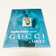 RARE gucci X Hello Kitty Charm Strap Vogue Japan 2014 Bonus Item
