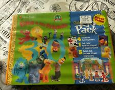 Golden Books Go Pack Elmo & His Friends Playset Sesame Street Punch Out Playset