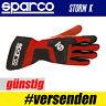 SPARCO Karthandschuh STORM K, ROT, Professionelle Handschuhe