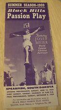 "VTG 1959 Souvenir Brochure~""BLACK HILLS PASSION PLAY""~Joseph Meier~South Dakota"