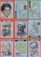 League of Nations Card Set 54 Cards CaliCo Graphics 1990