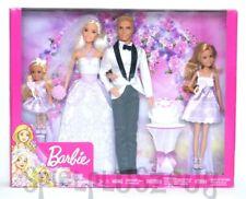 Barbie Wedding set sueño regalo de bodas basurillas novia y el novio muñeca nuevo
