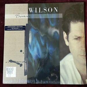 BRIAN WILSON VINYL self titled LP SEALED Expanded 2LP RSD Version BLUE SWIRLED