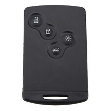 Remote Smart Card Key For Koleos RENAULT Laguna Shell 4 Buttons Black Car MSYG