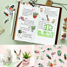 45Pcs/Pack Cactus Pots Paper Sticker Diary Decoration DIY Scrapbooking Label