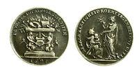pcc1838_55) Medaglia Trattato di Rijswijk 1697 Silver mm 20