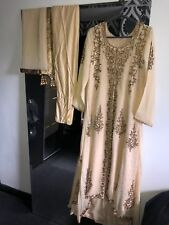 Asian Pakistani Indian Party Clothes Wedding Shalwar Kameez Dress