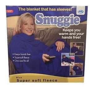 Snuggie Warm Sleeved Fleece body Snuggle Wrap Blanket