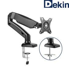 DEKIN Monitor Tischhalterung DK201M schwarz Traglast max 6,5 kg Gasdruckfeder