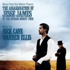 THE ASSASSINATION OF JESSE JAMES BY THE COWARD ROBERT FORD CD NEW Nick Cave