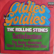 """7"""" ROLLING STONES : Satisfaction + The Under-Assistant"""