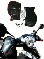 Black Motorcycle Handle Bar Mitts Hand Warmer Motorbike Bar Muffs Gloves