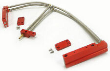 OBX Aluminum Fuel Injection Rail Fit 2002 03 04 2005 Impreza WRX 2.0L EJ20T Red