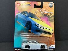 Hot Wheels Nissan 240SX Silvia S15 White Street Tuners FPY86-956L 1/64