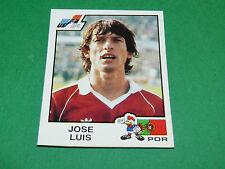 N°171 JOSE LUIS PORTUGAL RECUPERATION PANINI FRANCE EURO 84 FOOTBALL 1984
