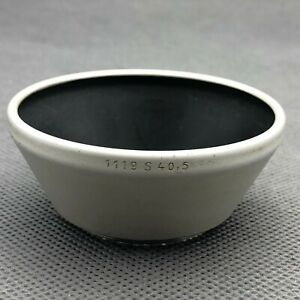 Zeiss Ikon Metal Lens Hood  1119 S 40,5mm 40.5MM CONTAX SONNAR LENS HOOD