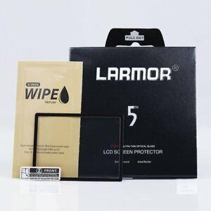 LARMOR 5th Gen LCD Screen Protector for Olympus E-M5 II E-M1 E-M10 E-P5 PEN-F